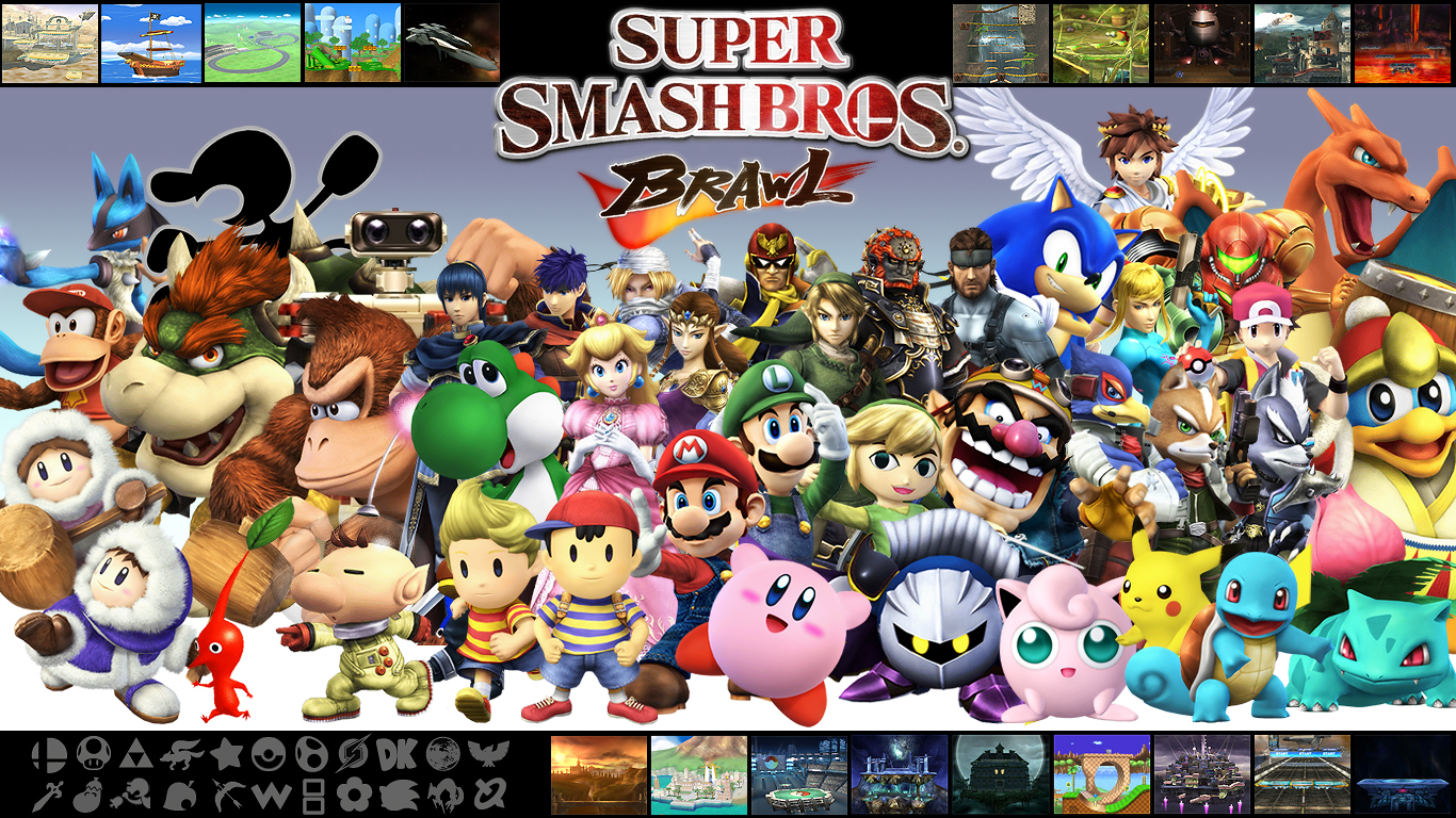 Brawl Wallpapers-3 Super Smash Bros.