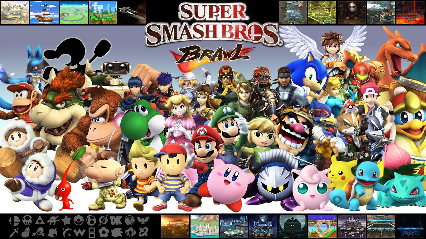 Super Smash Bros Brawl Wallpaper 1366x768 79119