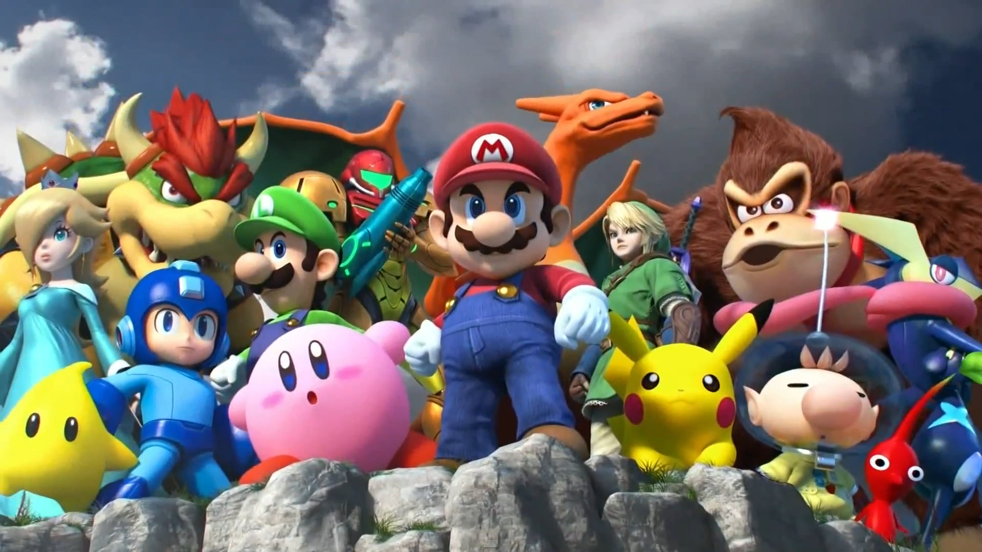 ... MarkProductions Super Smash Bros. characters poster (high quality) by MarkProductions