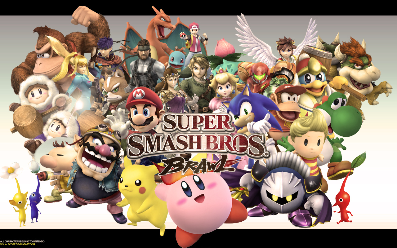 HD Wallpaper | Background ID:30662. 1280x800 Video Game Super Smash Bros.