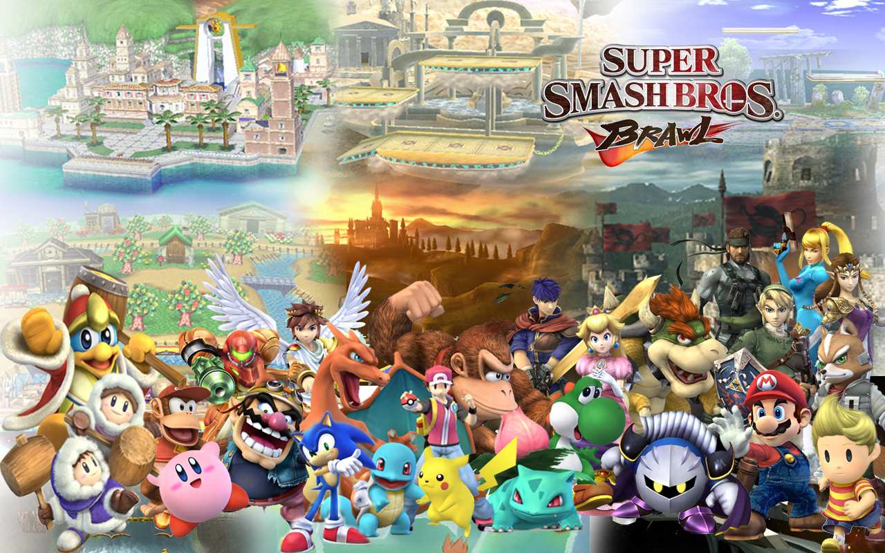 Super Smash Bros Wallpaper; Super Smash Bros Wallpaper ...