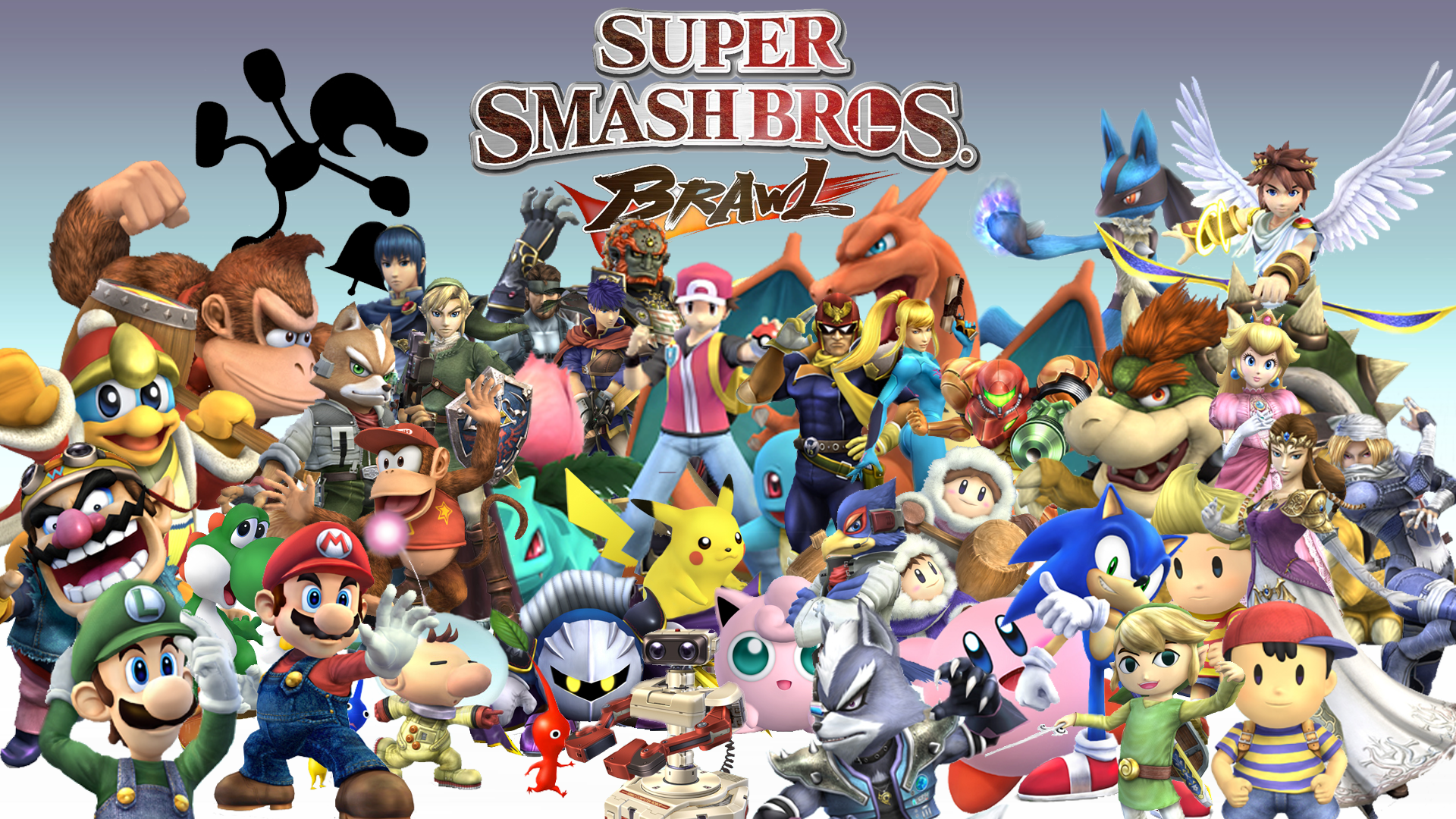 Super Smash Bros Wallpaper Widescreen