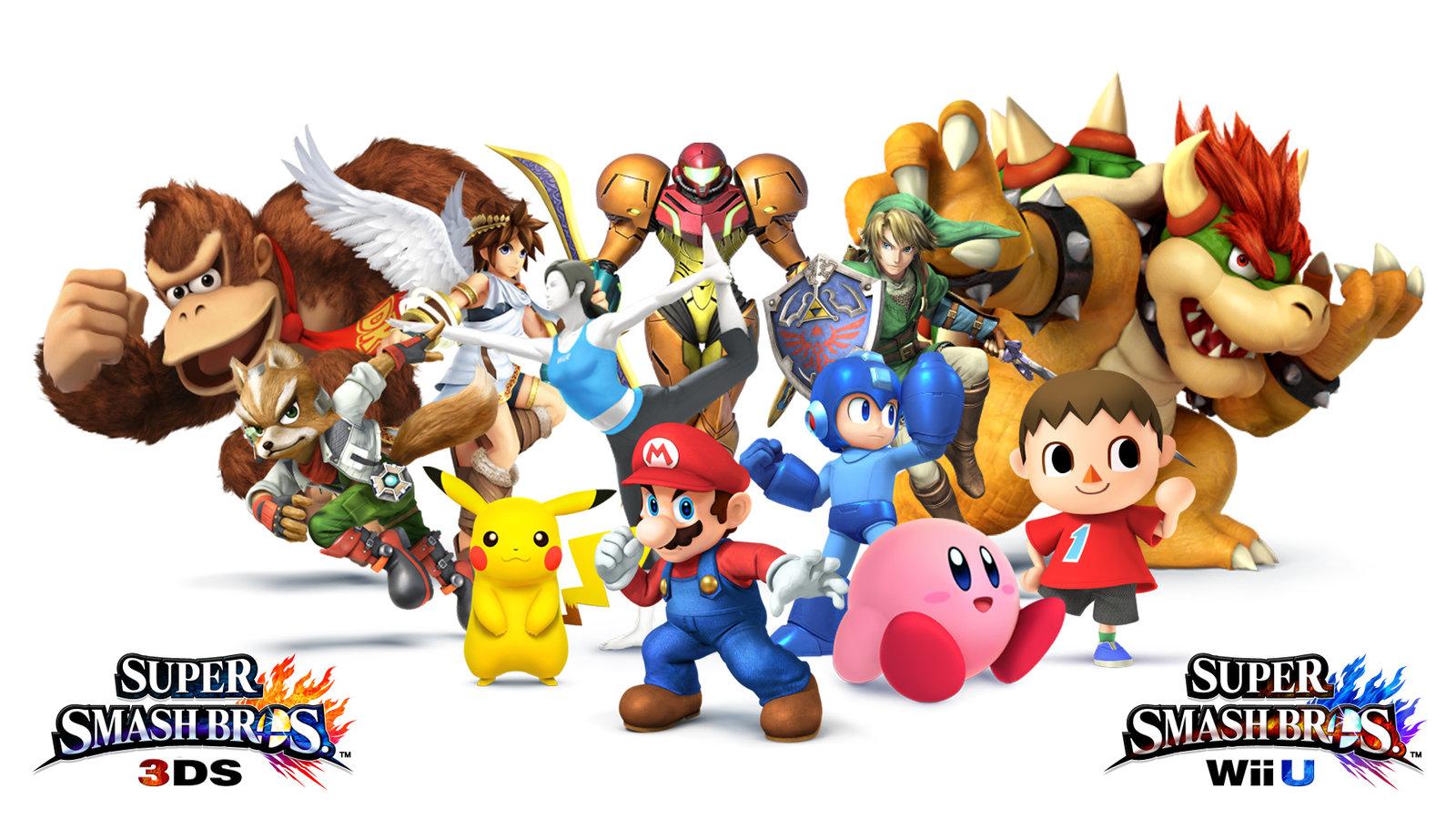 Super Smash Bros for Wii U – Wallpaper