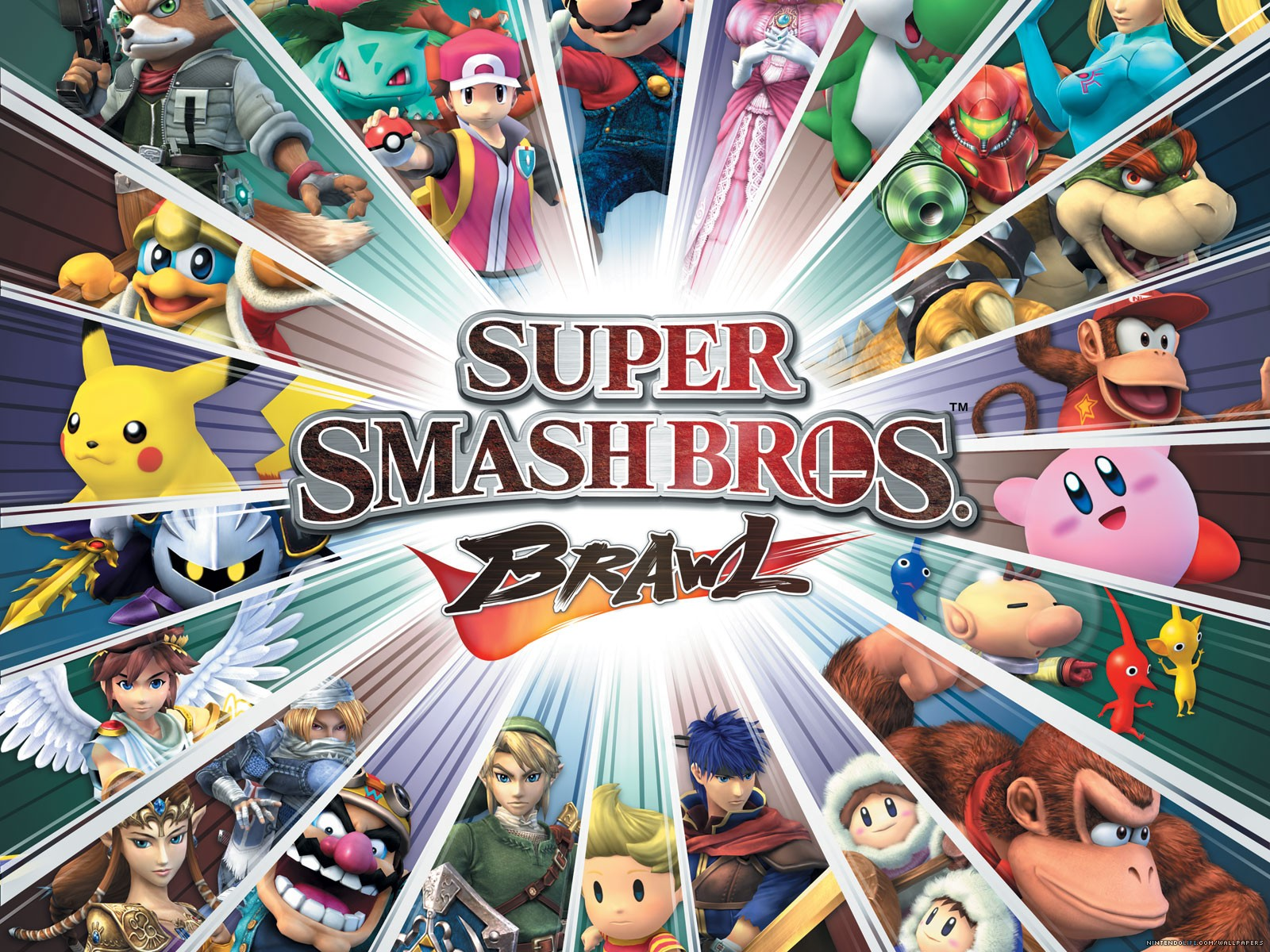 Brawl Wallpapers-1 Super Smash Bros.