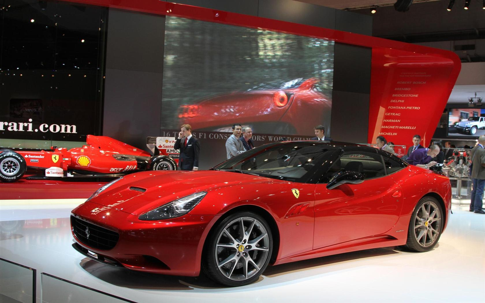 Supercar Ferrari California