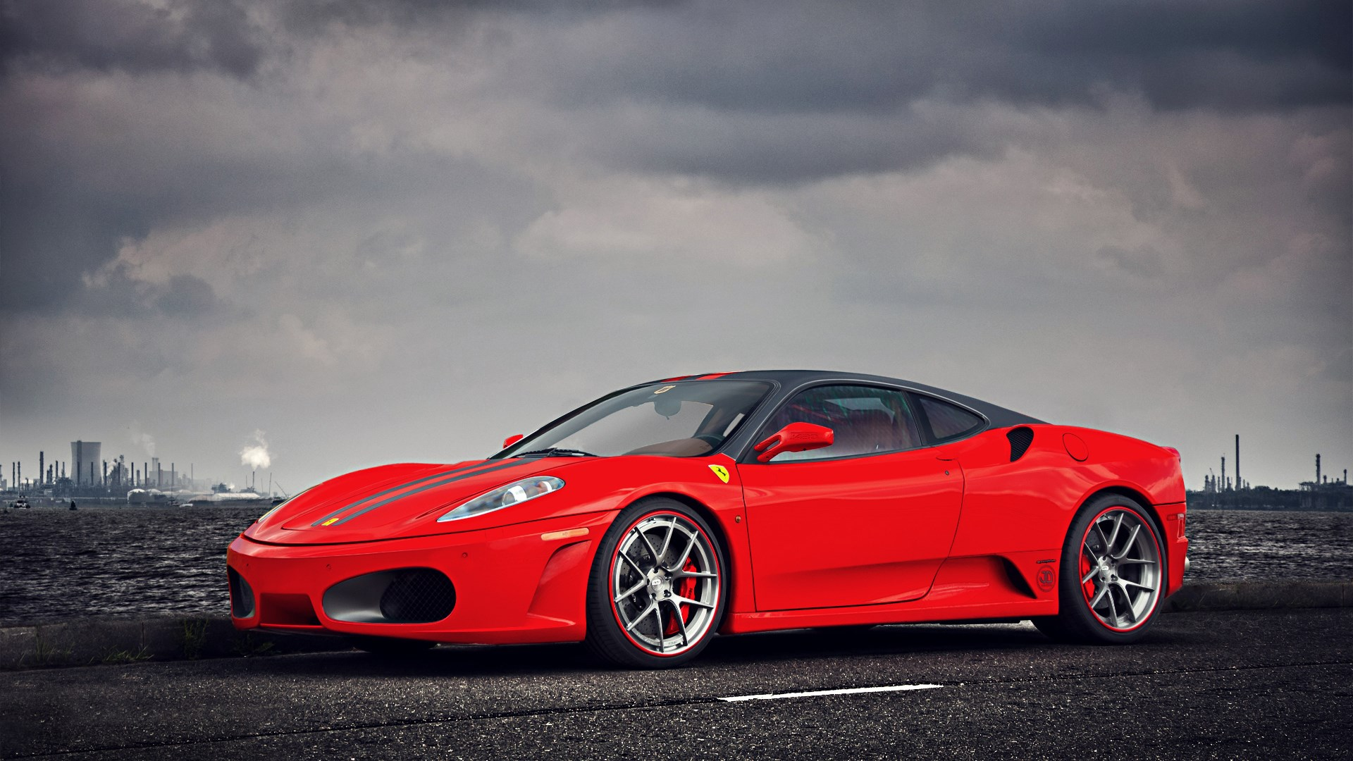 Ferrari F430 Red Parking