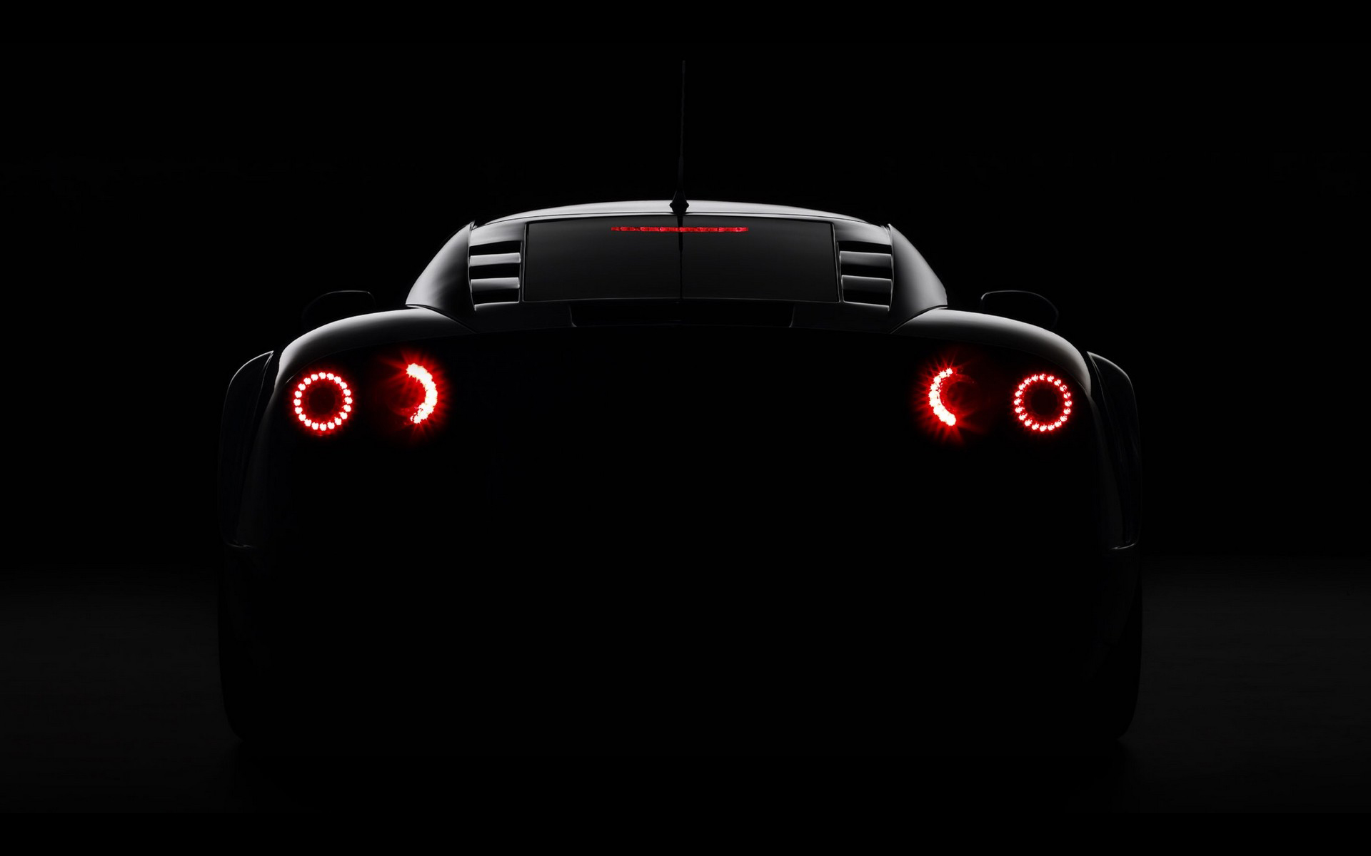 Supercar rear lights