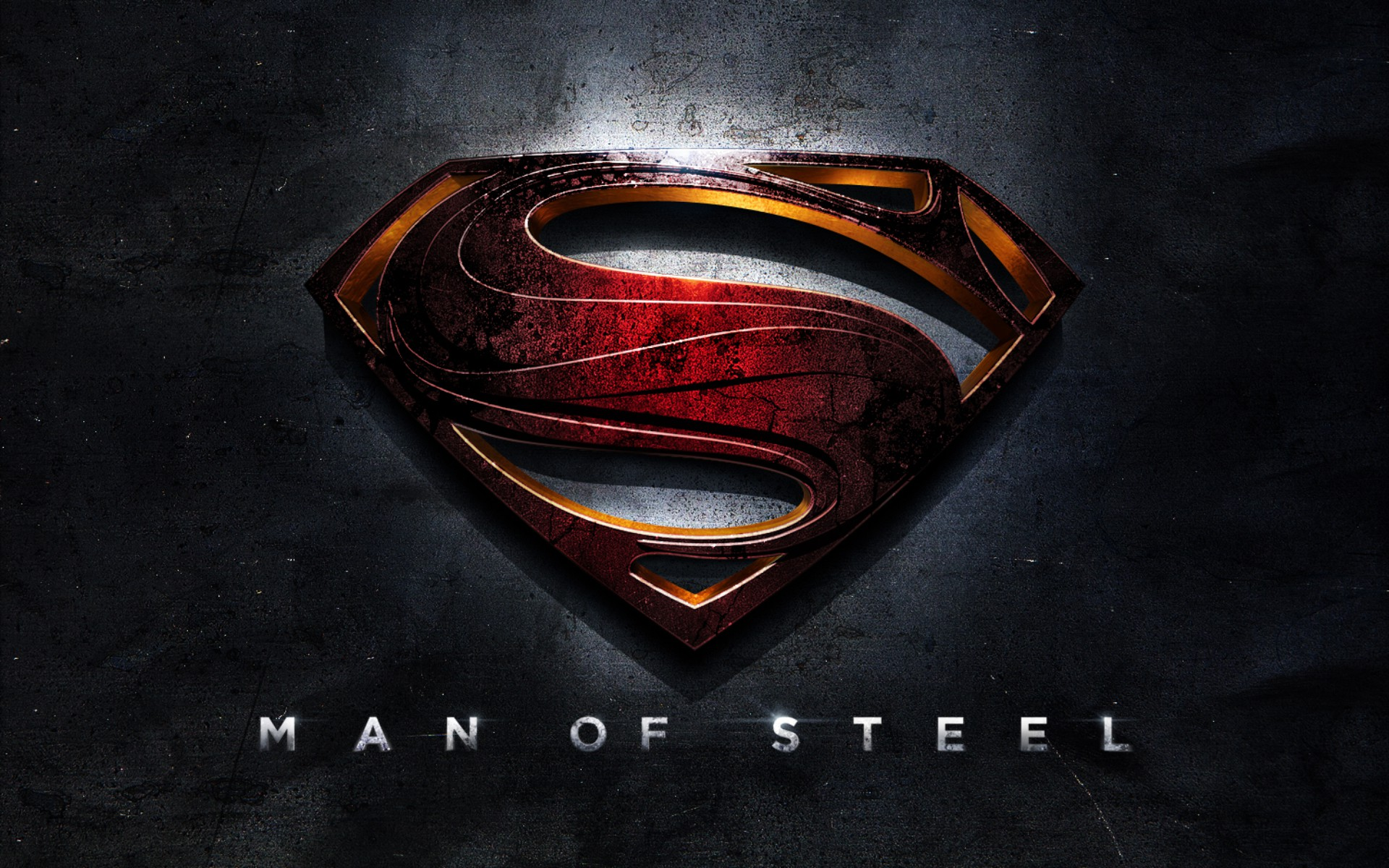 Superman Logo Man of Steel