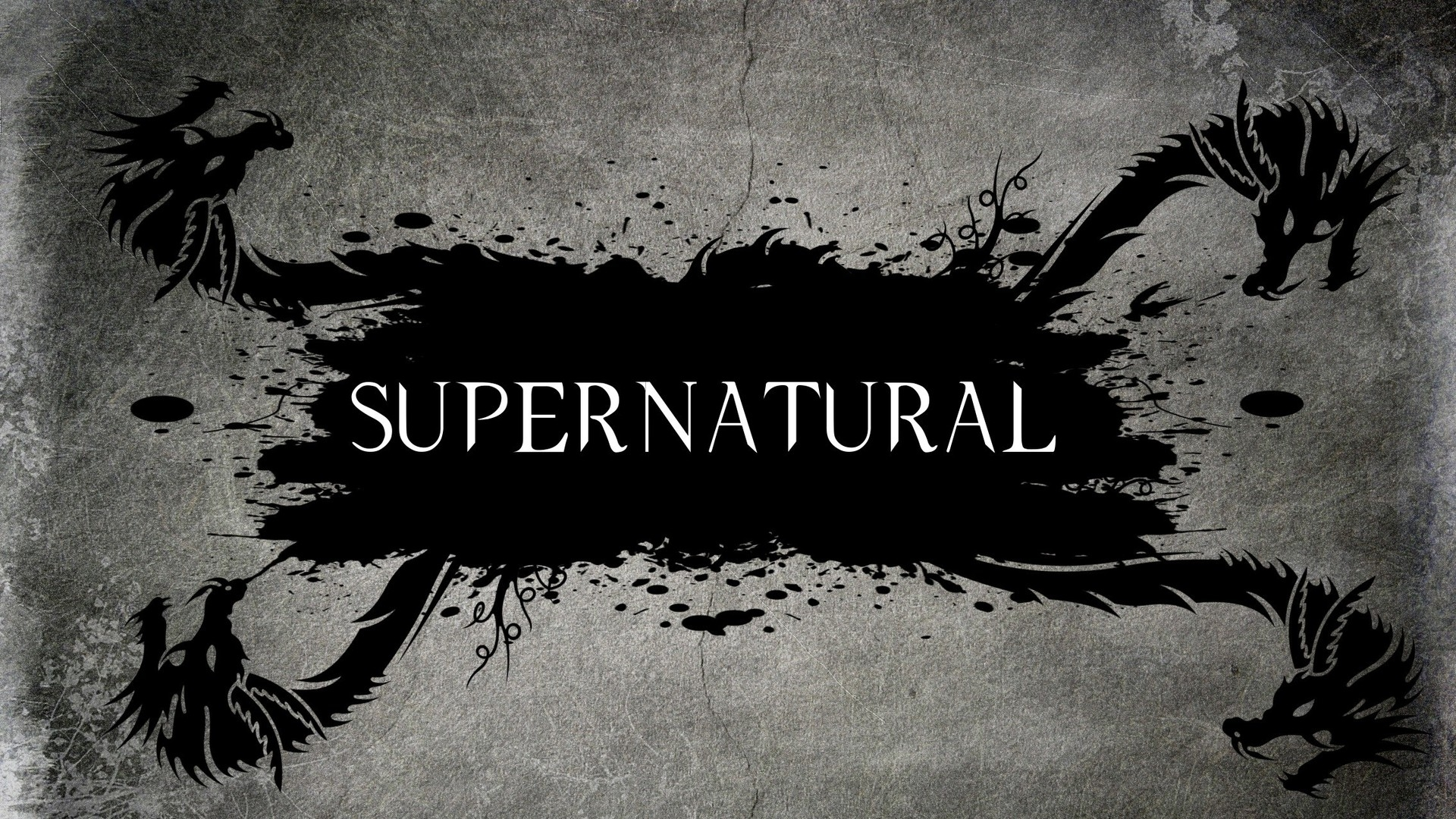 Supernatural Logo Wallpaper