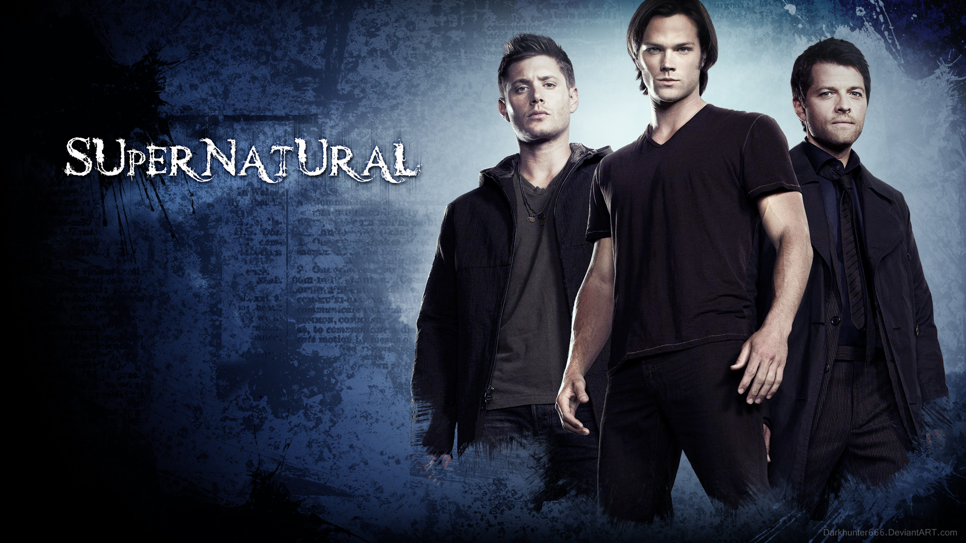 Supernatural Wallpaper Design by DarkHunter666