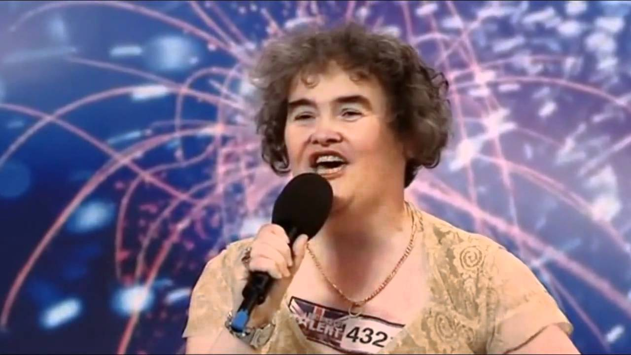 SUSAN BOYLE First audition
