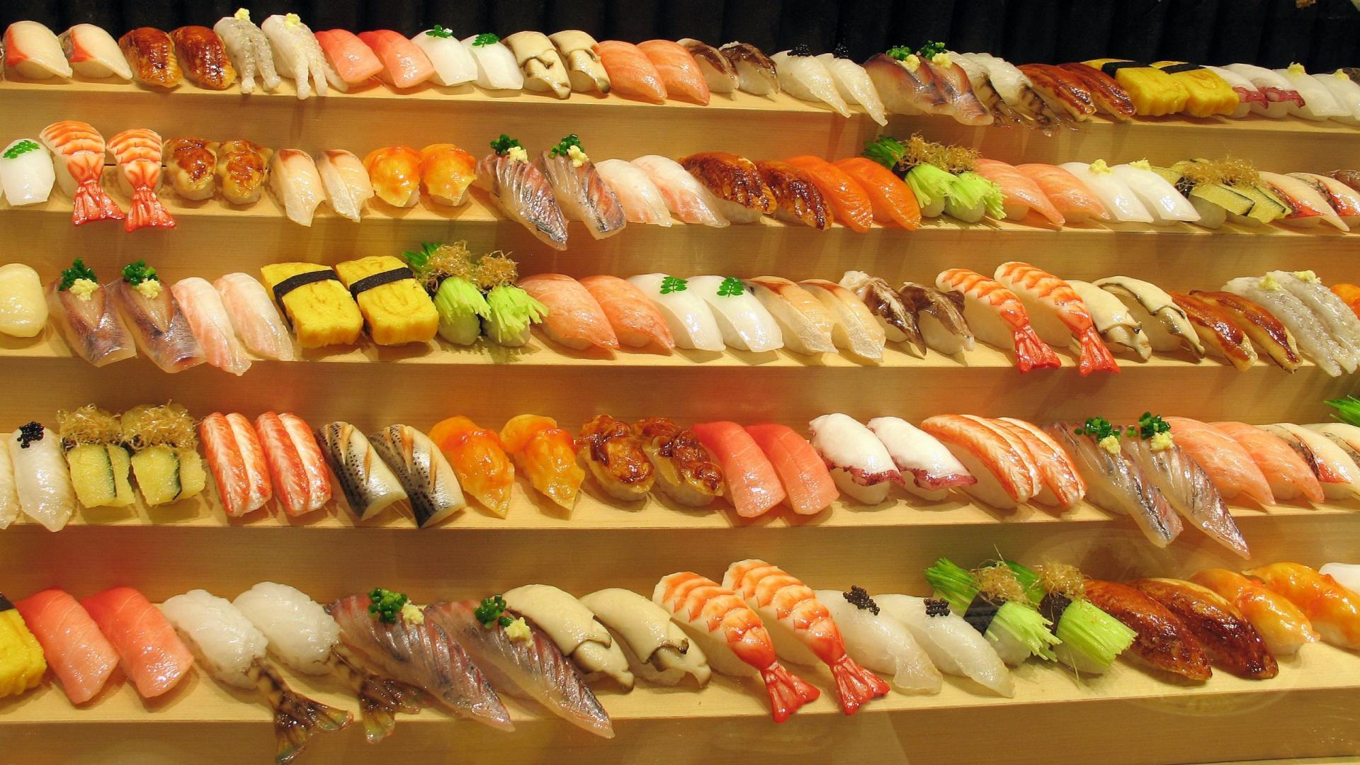 HD Wallpaper   Background ID:424028. 1920x1080 Food Sushi