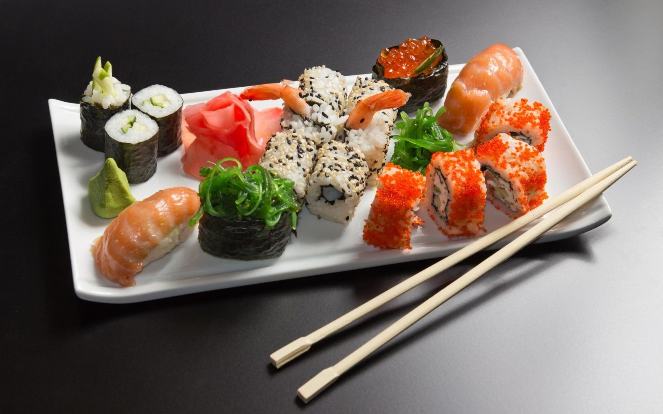 HD Wallpaper | Background ID:337141. 2560x1600 Food Sushi