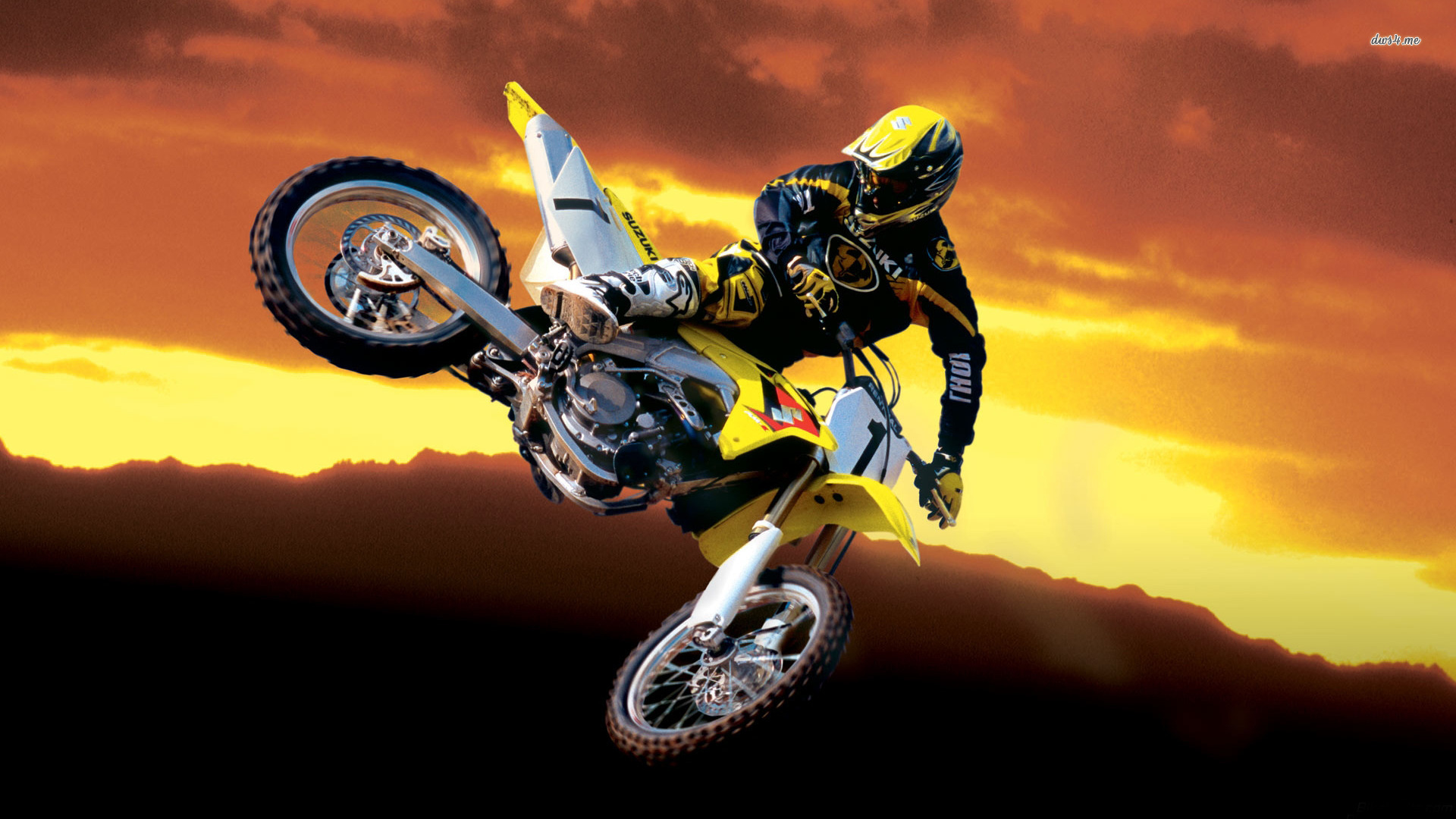 Picture Suzuki Motocross Rmz Wallpaper