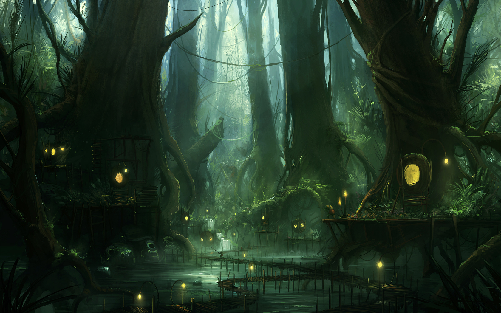 Swamp by JJcanvas Swamp by JJcanvas