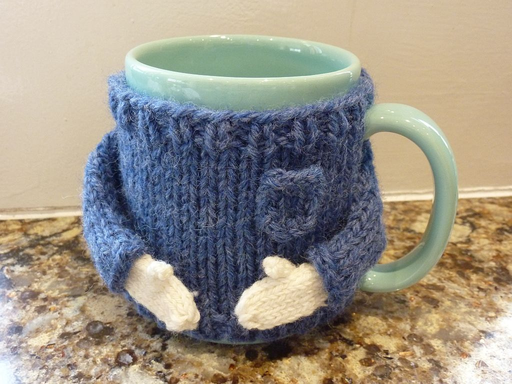 ... Coffee Mug Sweater   by Cabled Sheep