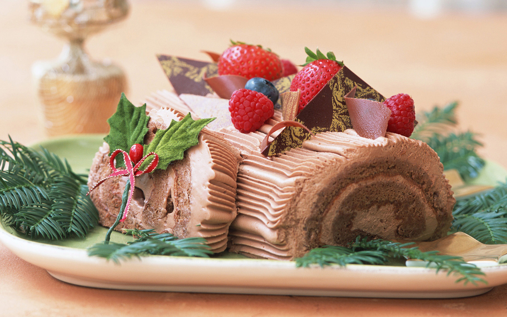 Sweets & Desserts : Fruit Dessert, Cake, Sweets ,Chocolates 1920*1200 NO
