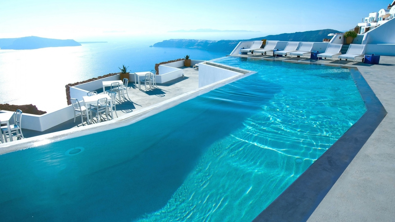 Description: The Wallpaper above is Swimming pool santorini Wallpaper in Resolution 1600x900. Choose your Resolution and Download Swimming pool santorini ...