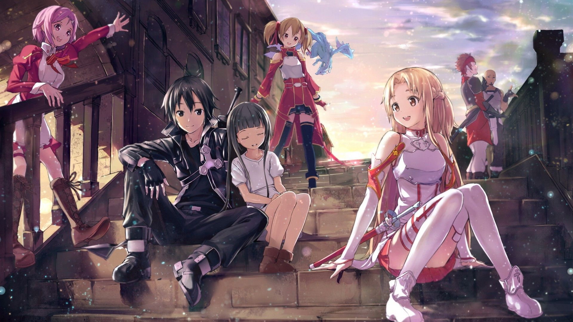 This is a chance to show your likeness. So get your Sword Art Online HD Wallpapers and display it. We have collection of 1920×1080 and different sizes.