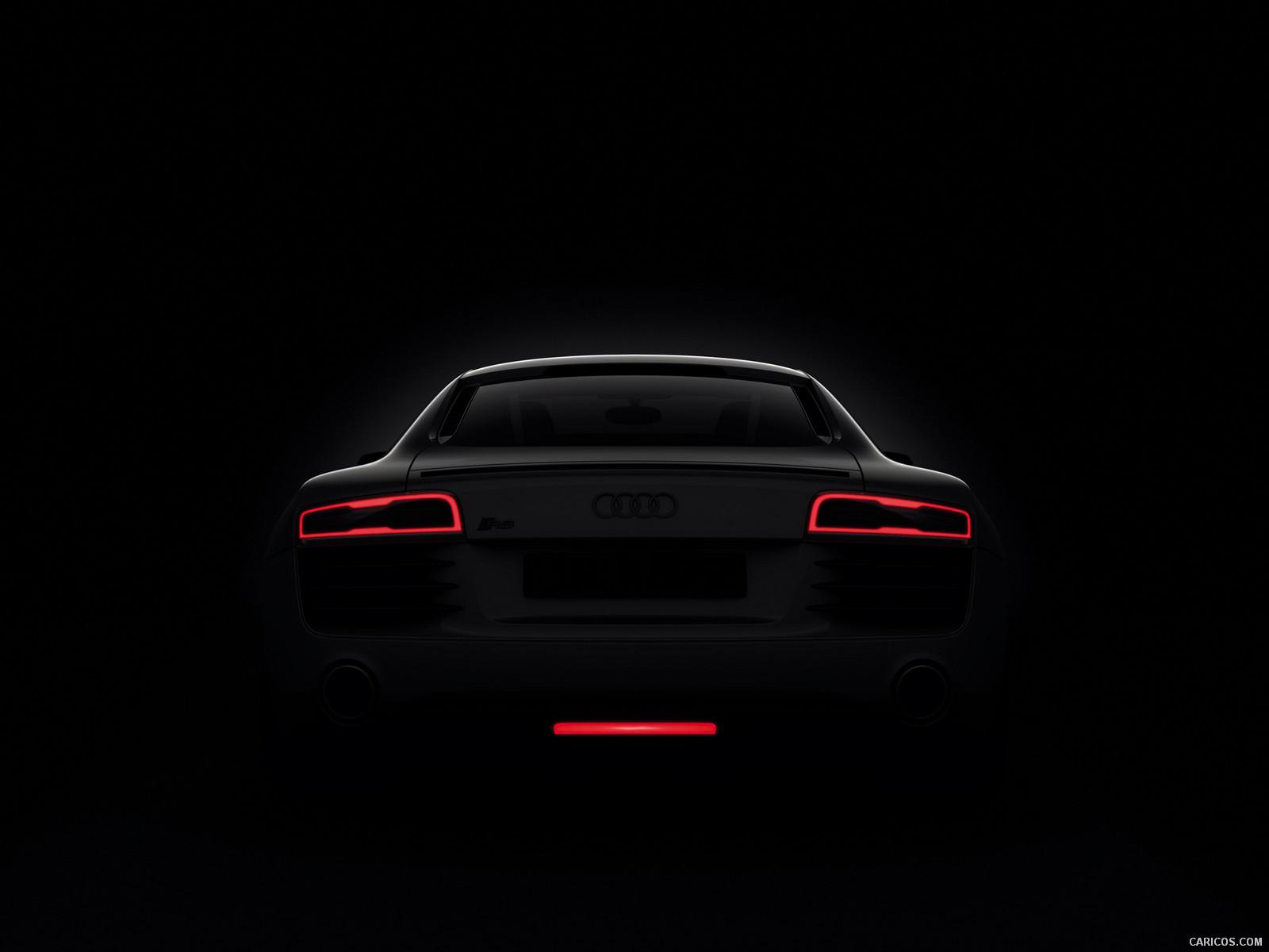 2013 Audi R8 LED Tail Lights - Wallpaper