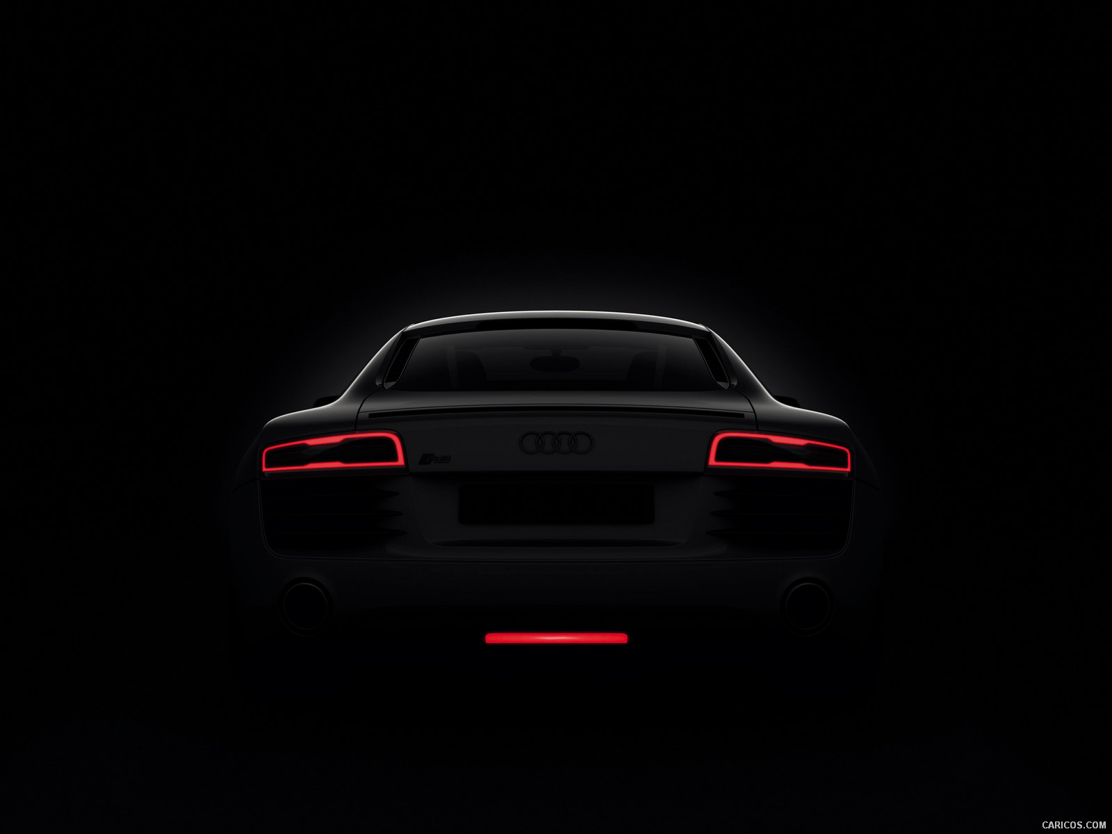2013 Audi R8 LED Tail Lights - Wallpaper