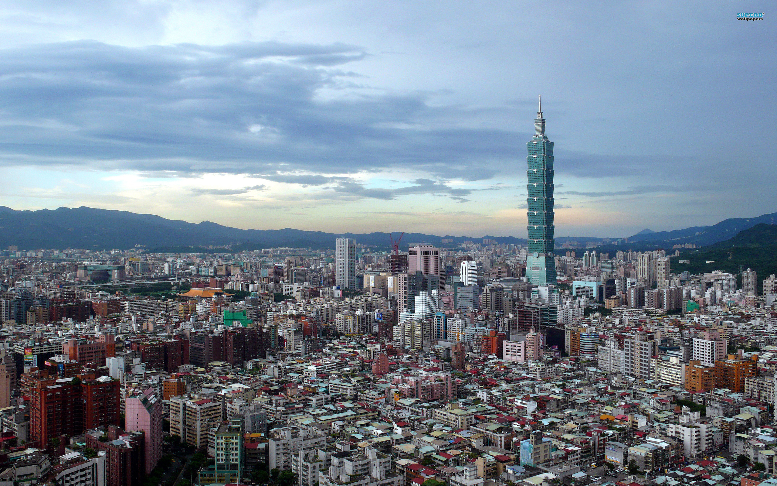 Taipei wallpaper 2560x1600 jpg