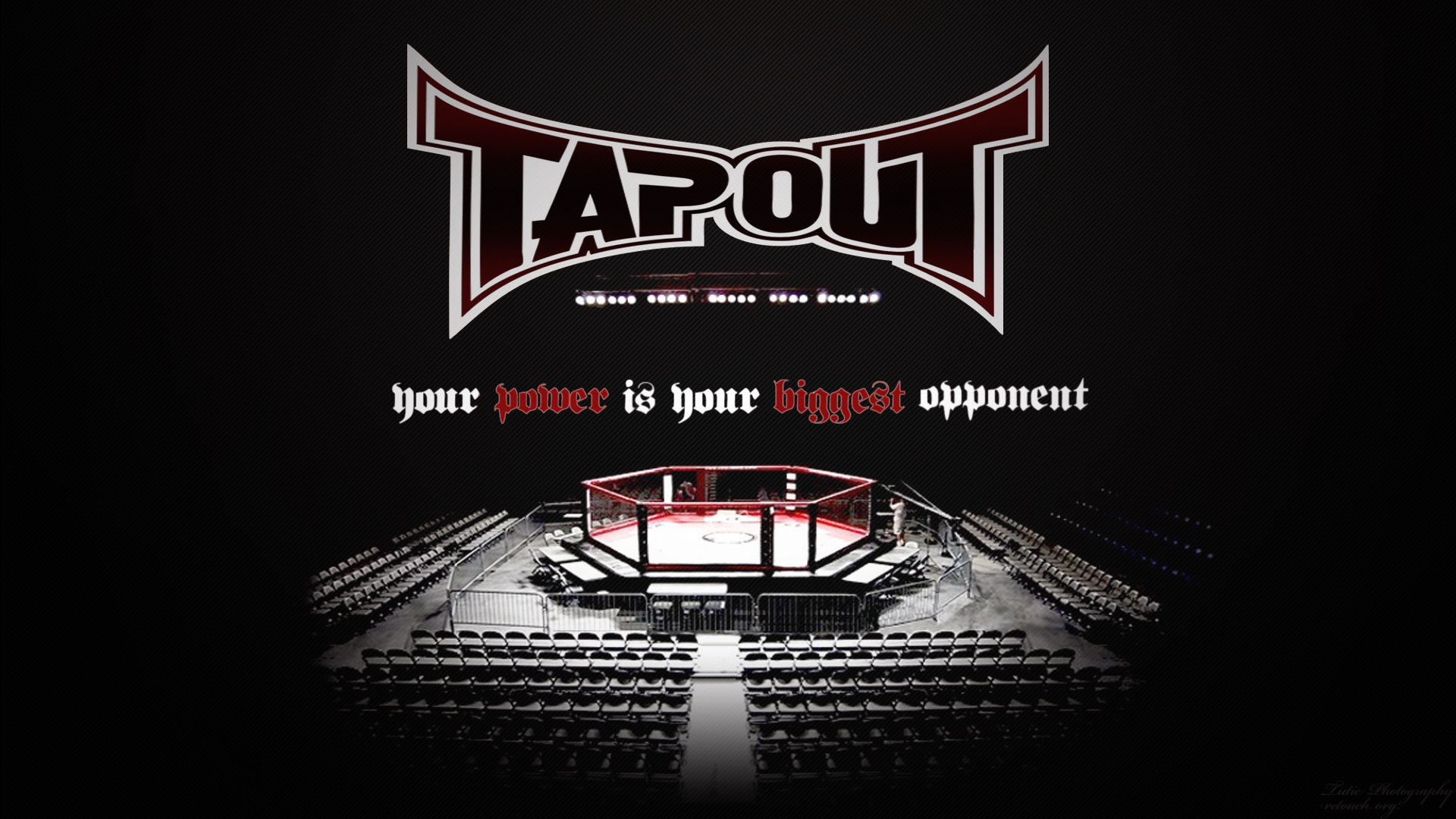 Tapout wallpaper by Bushidovski