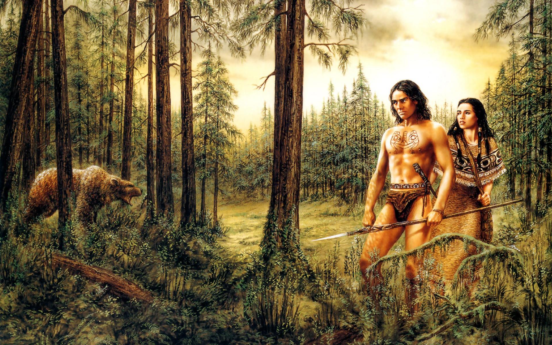 Forest Tarzan Art