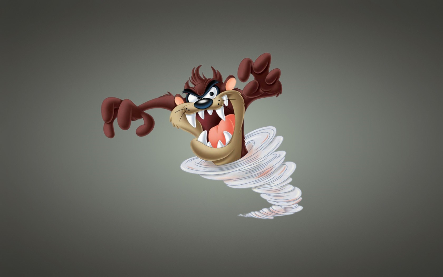 Tasmanian Devil Taz Tornado Storm Cartoon