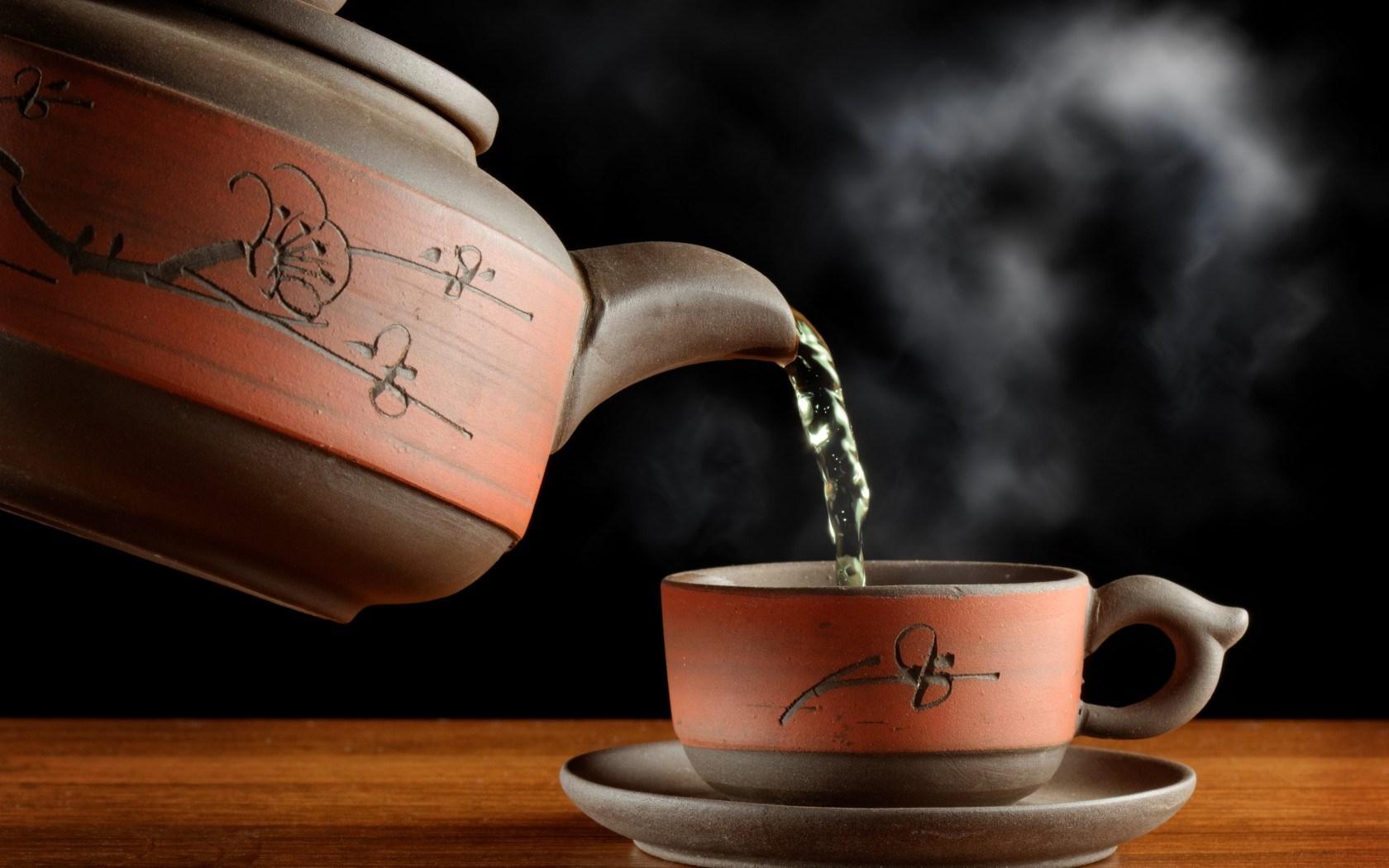 Tea Green Steam Cup Kettle