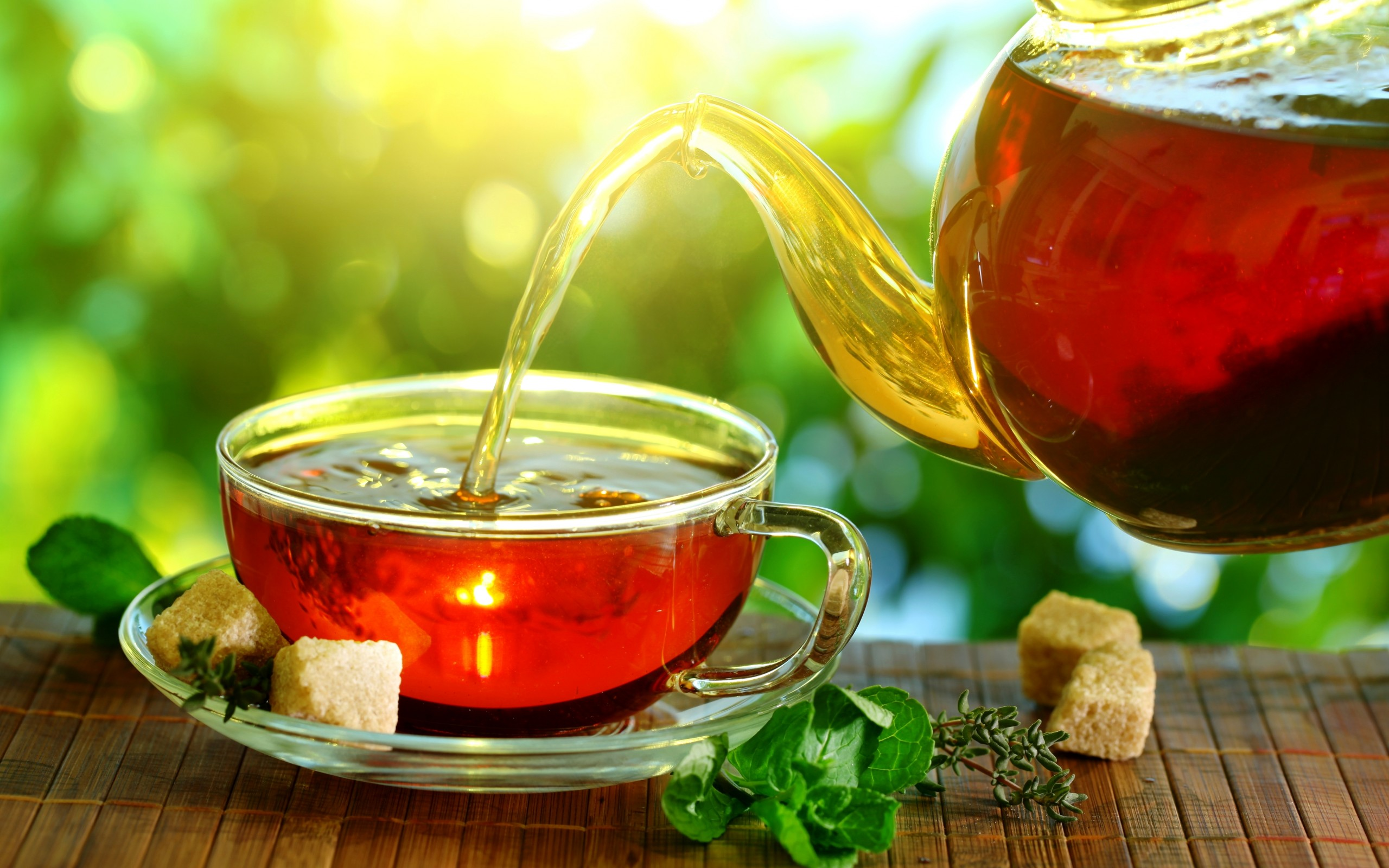 Fresh Tea Wallpaper Pc Wallpaper