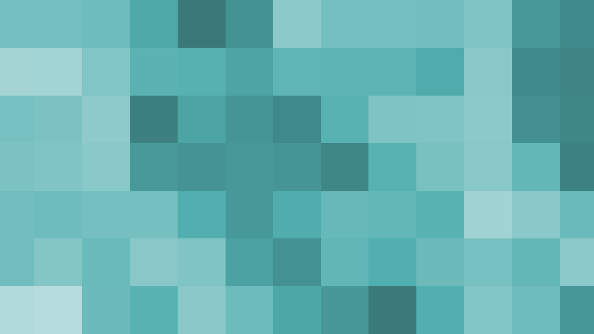 ... Teal Pixel Blocks by Jayro-Jones