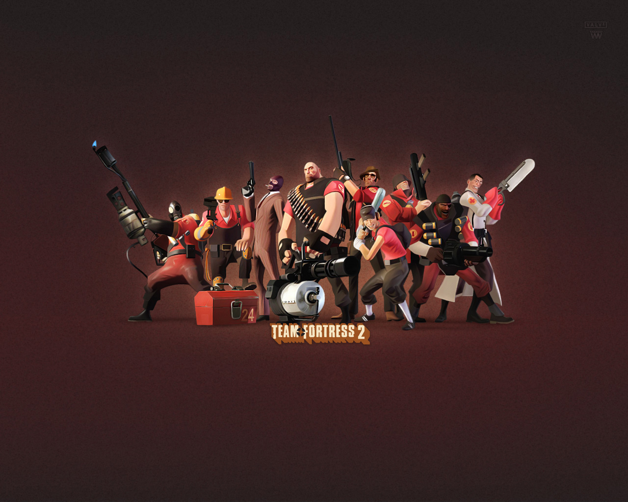 HD Wallpaper | Background ID:20313. 1280x1024 Video Game Team Fortress 2