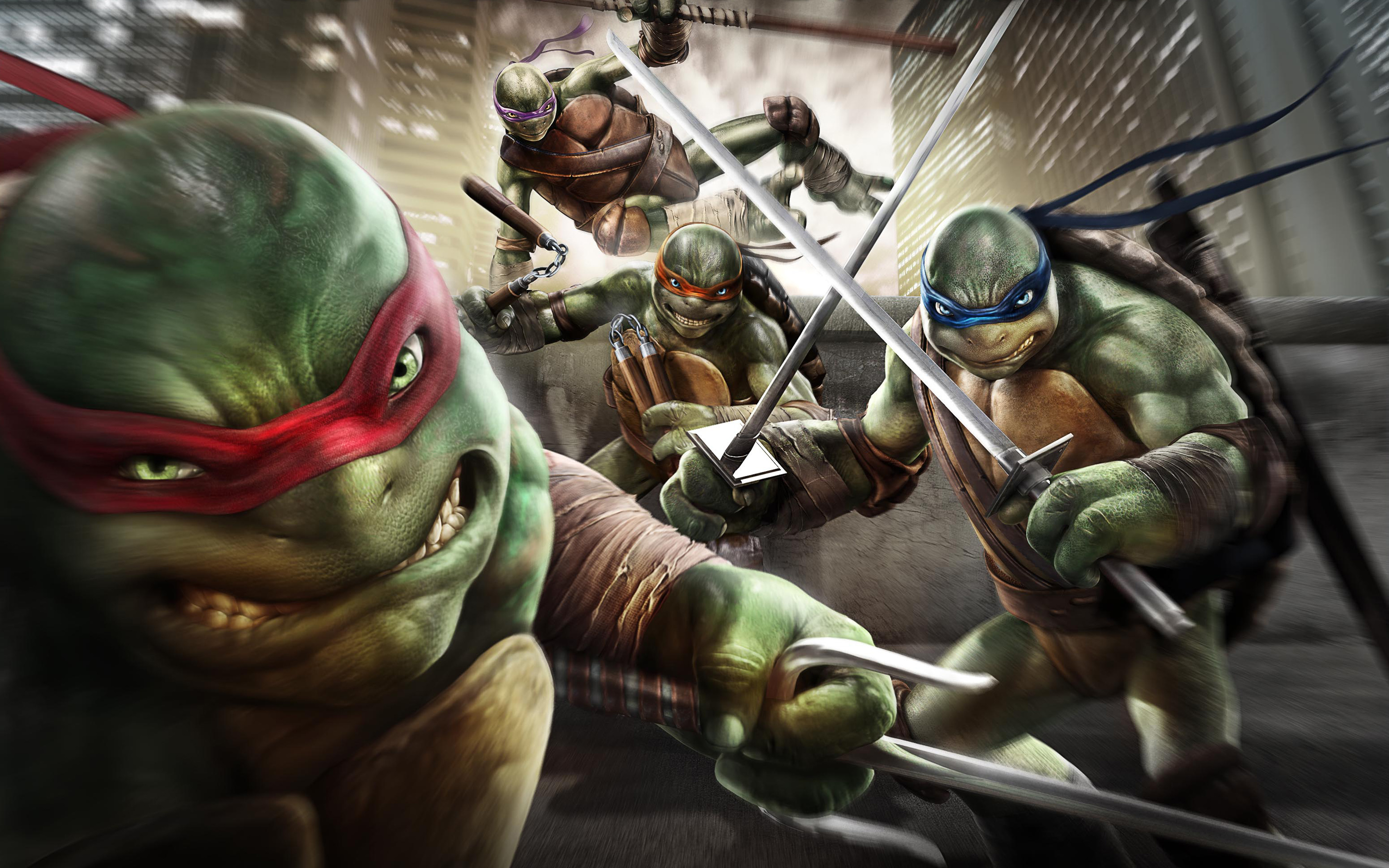 Teenage Mutant Ninja Turtles Out of The Shadows Game