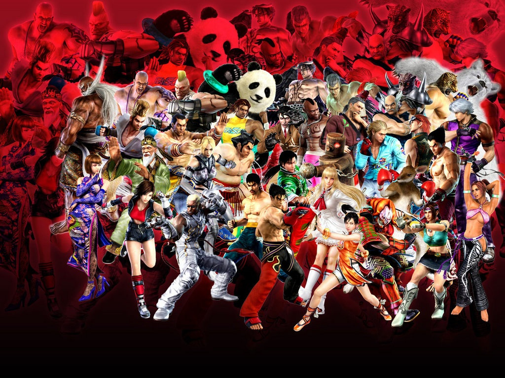 """Tekken"" desktop wallpaper (1024 x 768 pixels)"