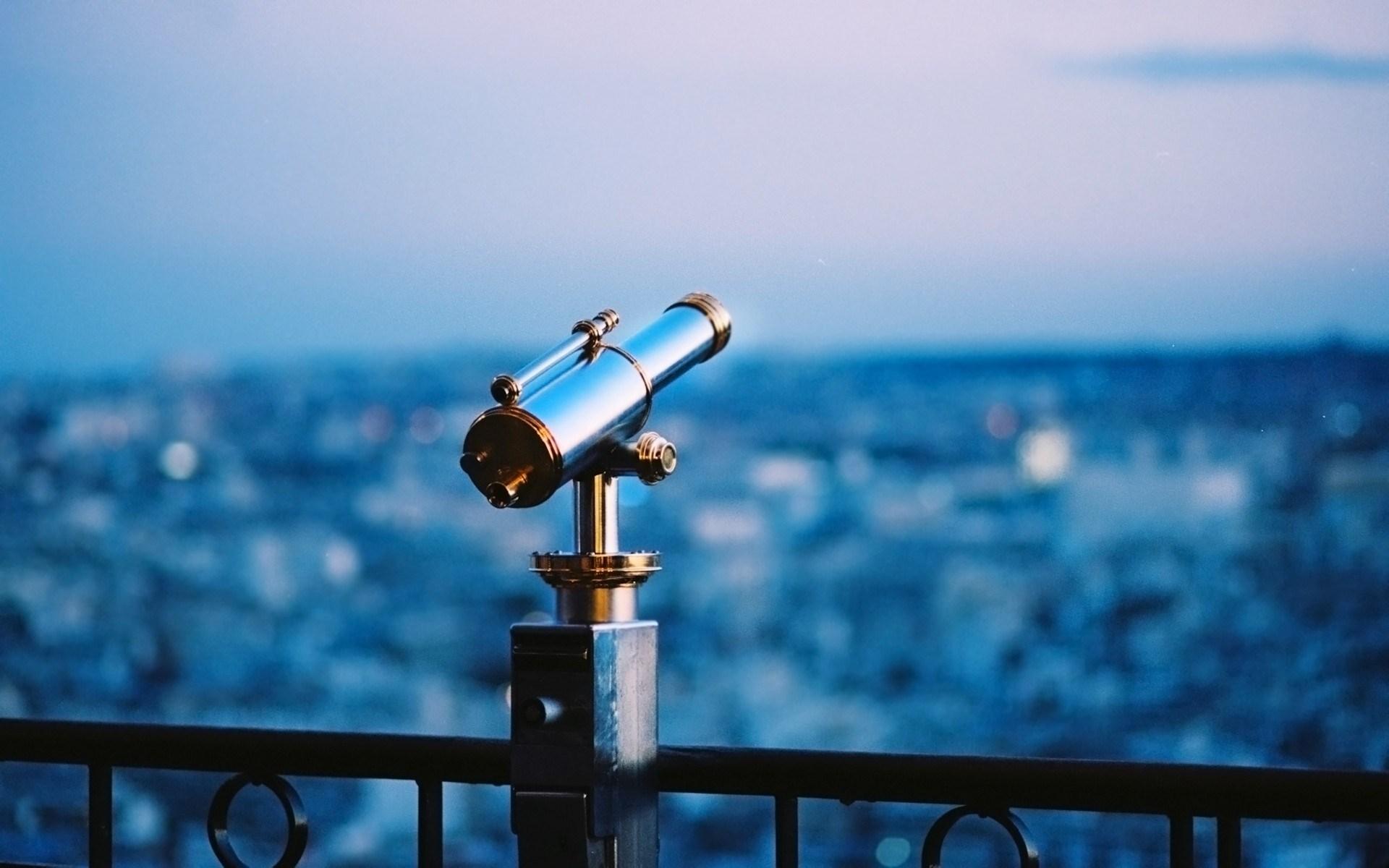 Telescope City Evening Photo