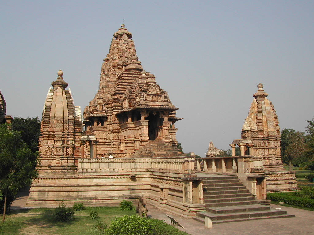 Full resolution   (1,024 × 768 pixels, file size: 294 KB, MIME type: image/jpeg). This is a file from the Wikimedia Commons. Khajuraho temples.