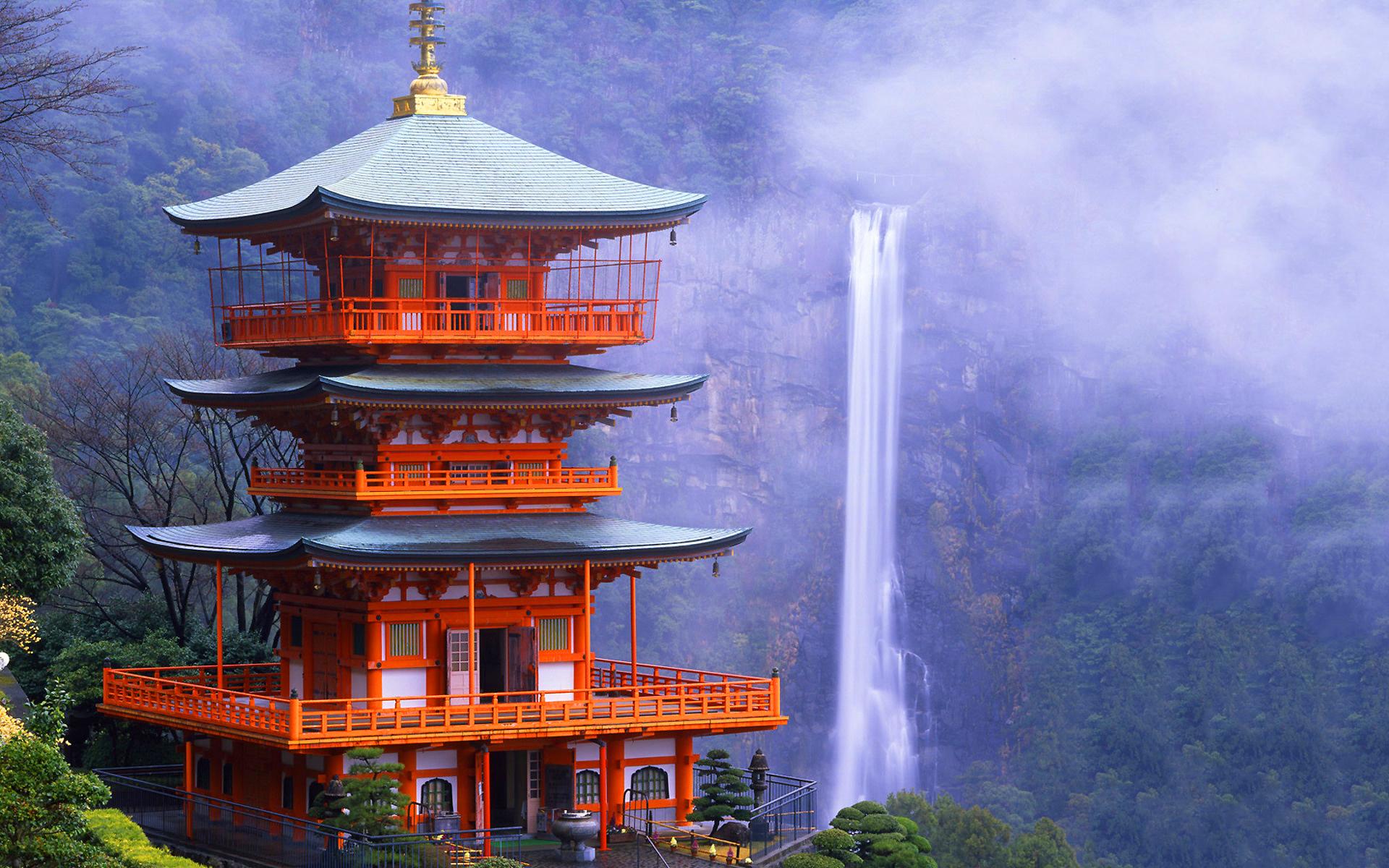 Temple pagoda japanese