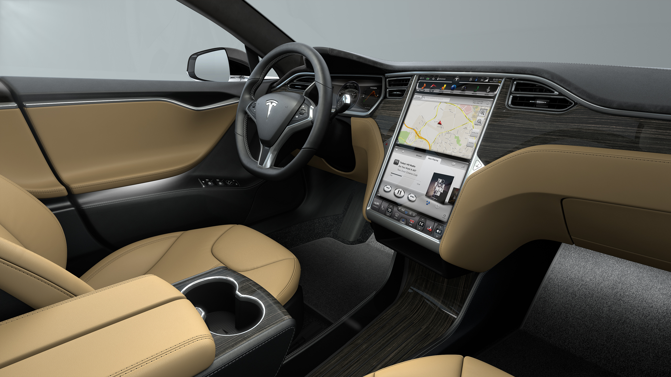 Tesla Model S P85D - photo gallery