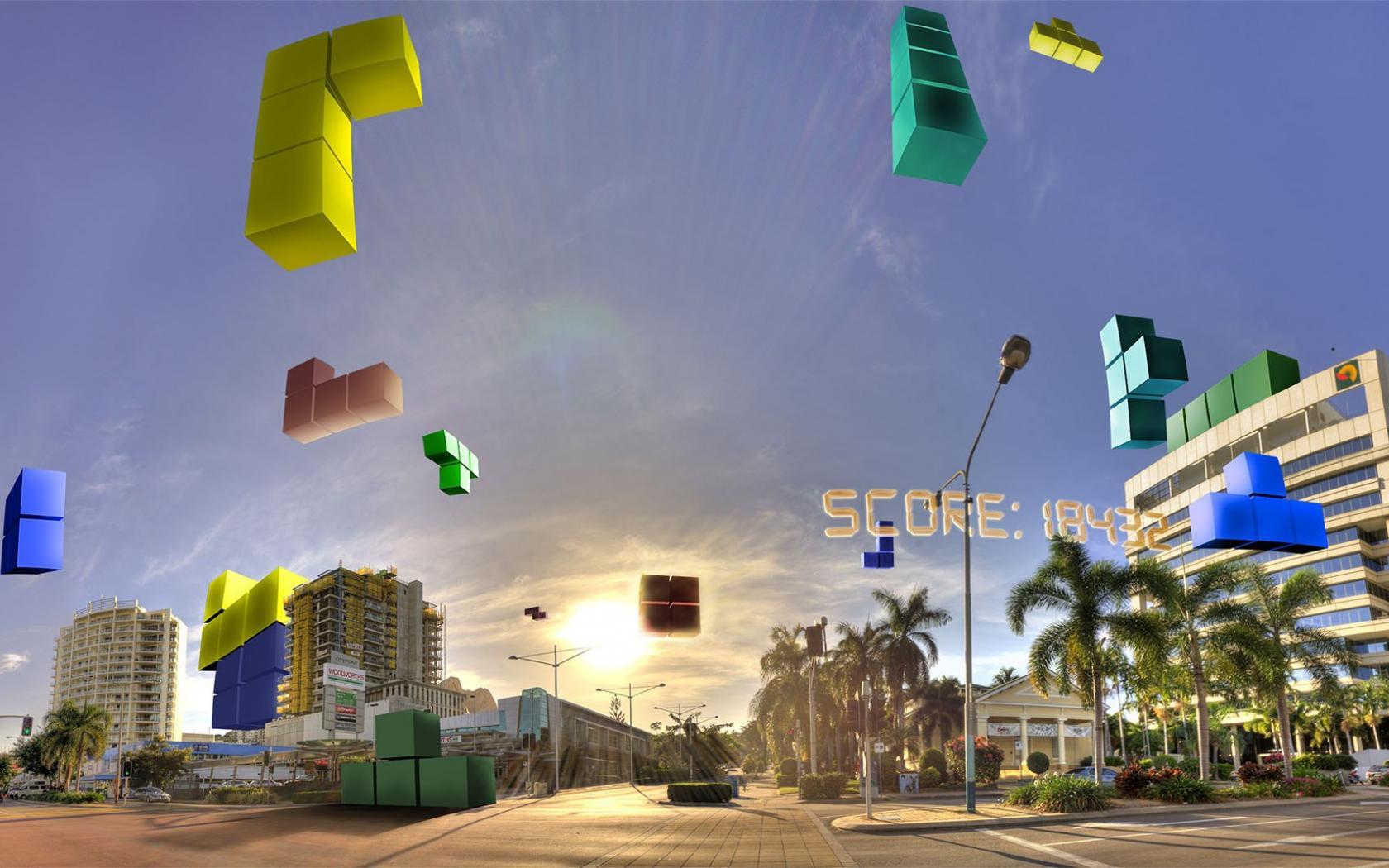 Tetris Wallpaper