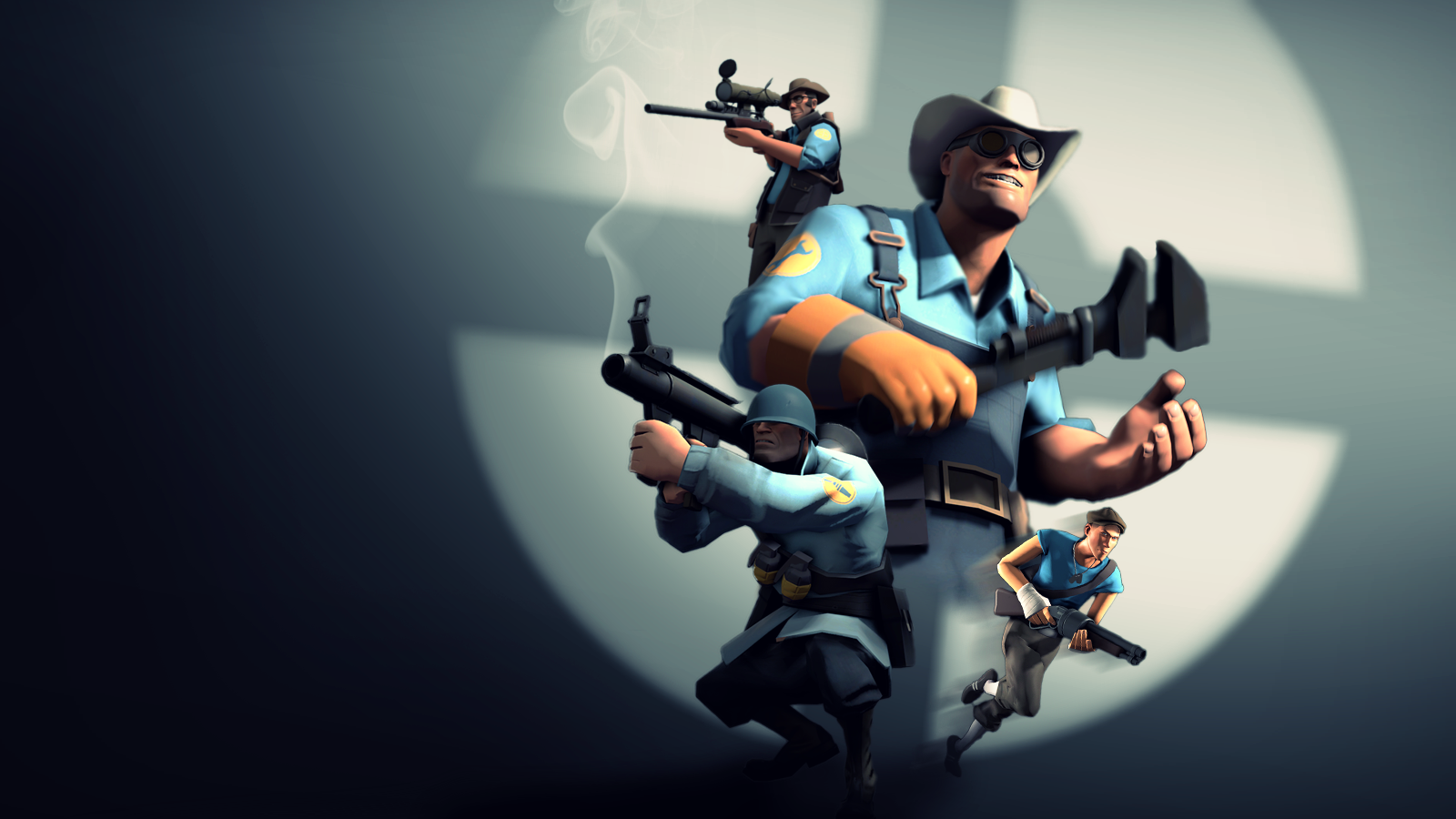 ... Team Fortress 2 Wallpaper (BLU) by Robogineer