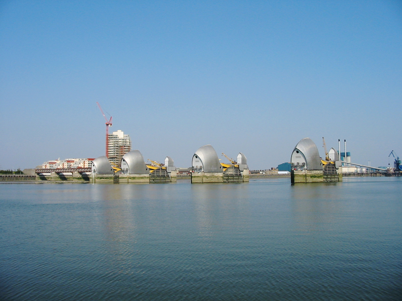 The River Thames Flood Barrier