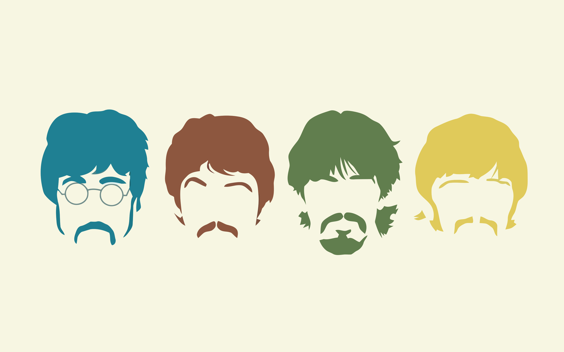 The Beatles Funny Background