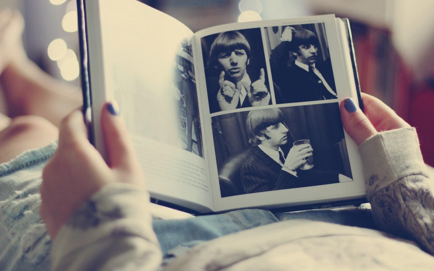 The Beatles Ringo Starr Richard Starkey Book Photo