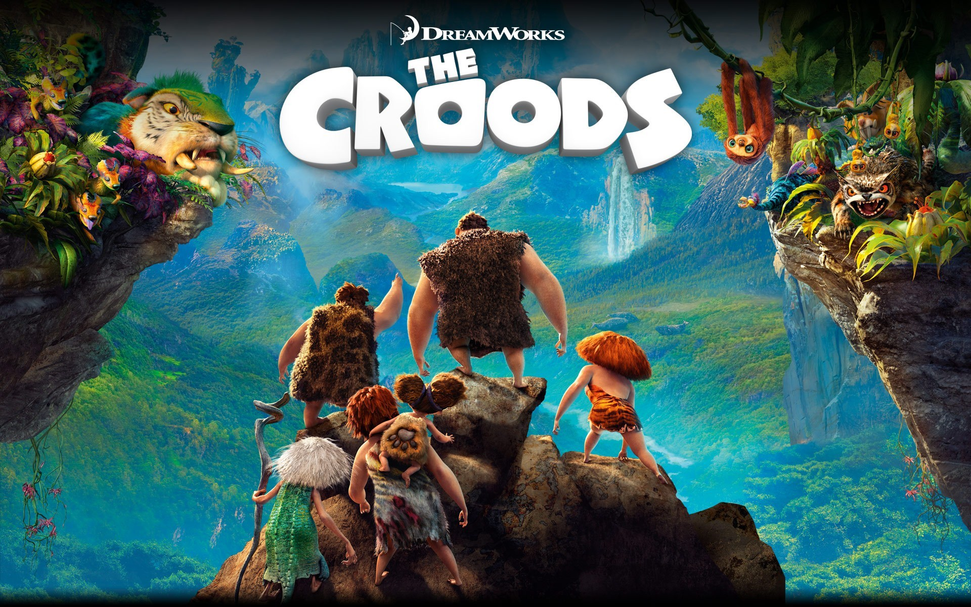 The Croods 2013 Animated Cartoon Film