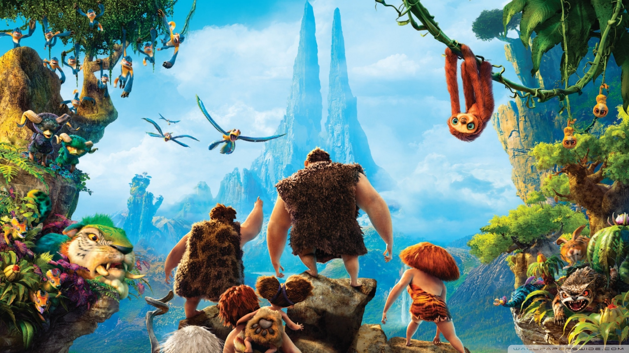 The Croods Wallpaper