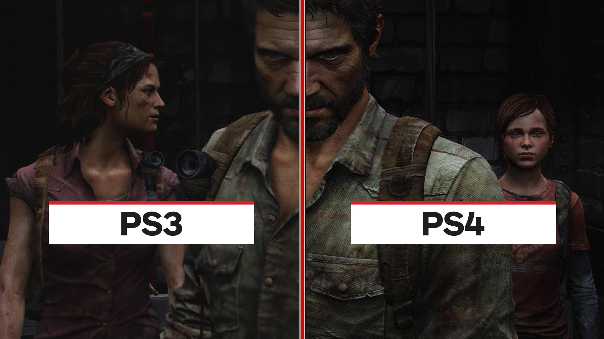 The Last of Us: PS4 vs. PS3 Graphic Comparison