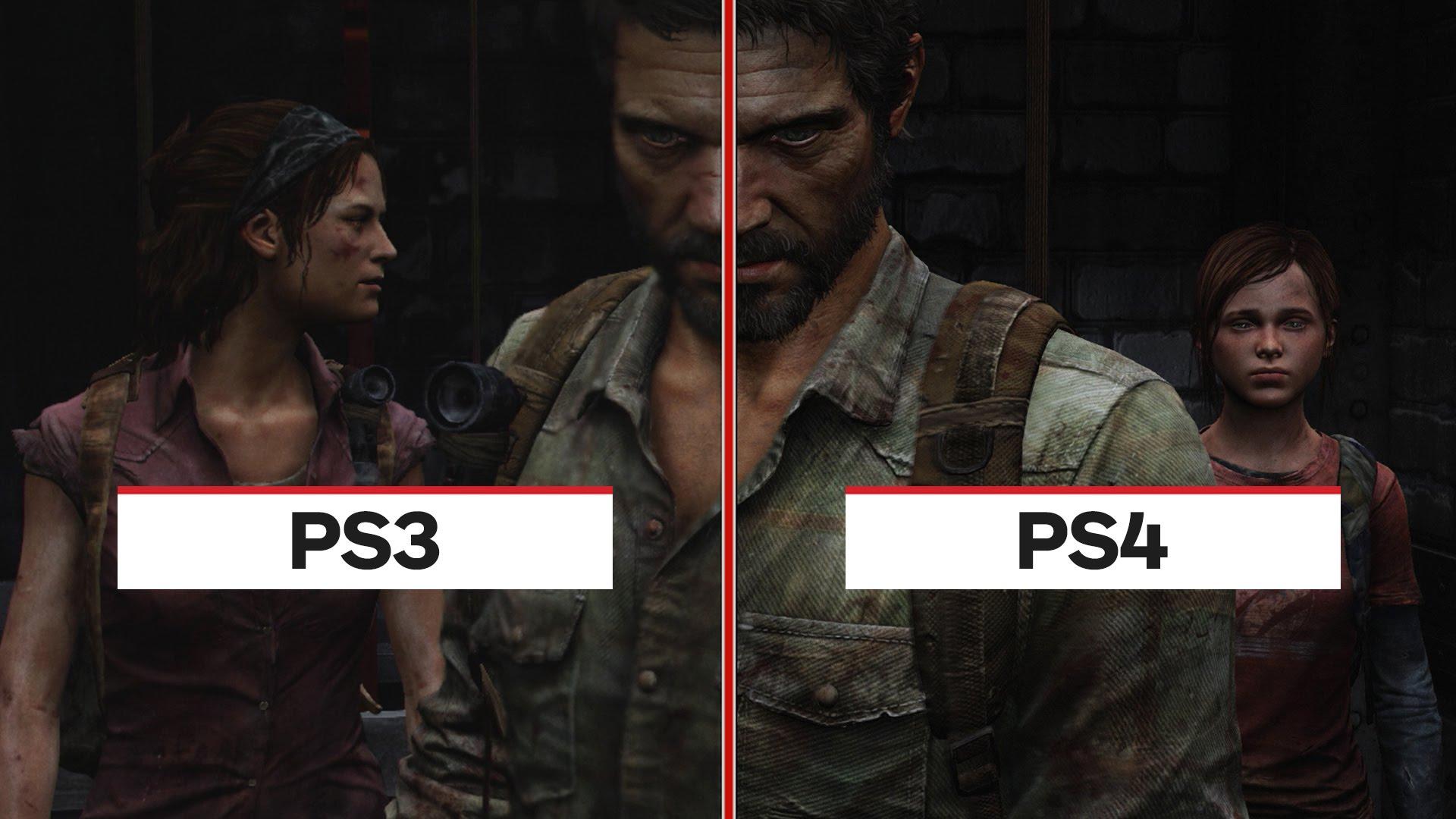 The Last of Us: PS4 vs. PS3 Graphic Comparison