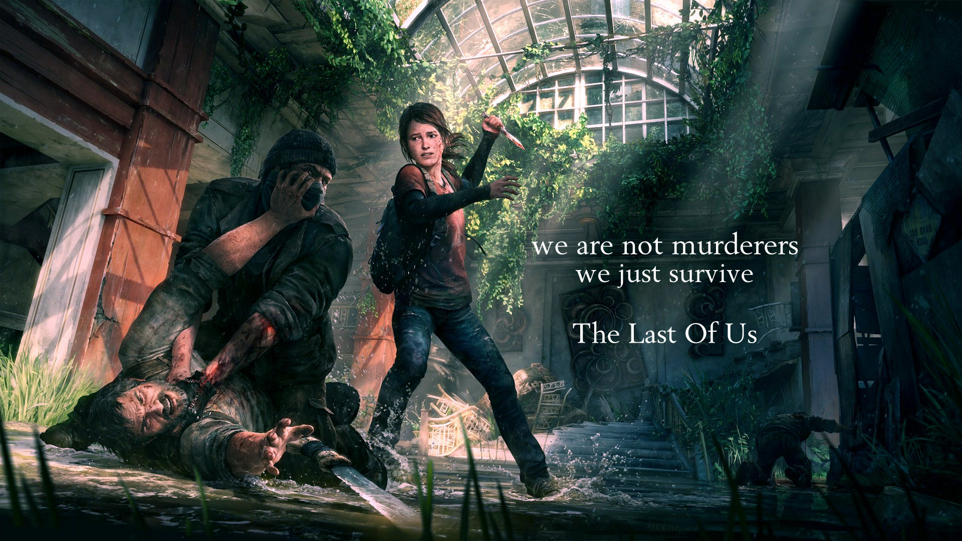 The Last Of Us Res: 1920x1080 HD / Size:553kb. Views: 61876