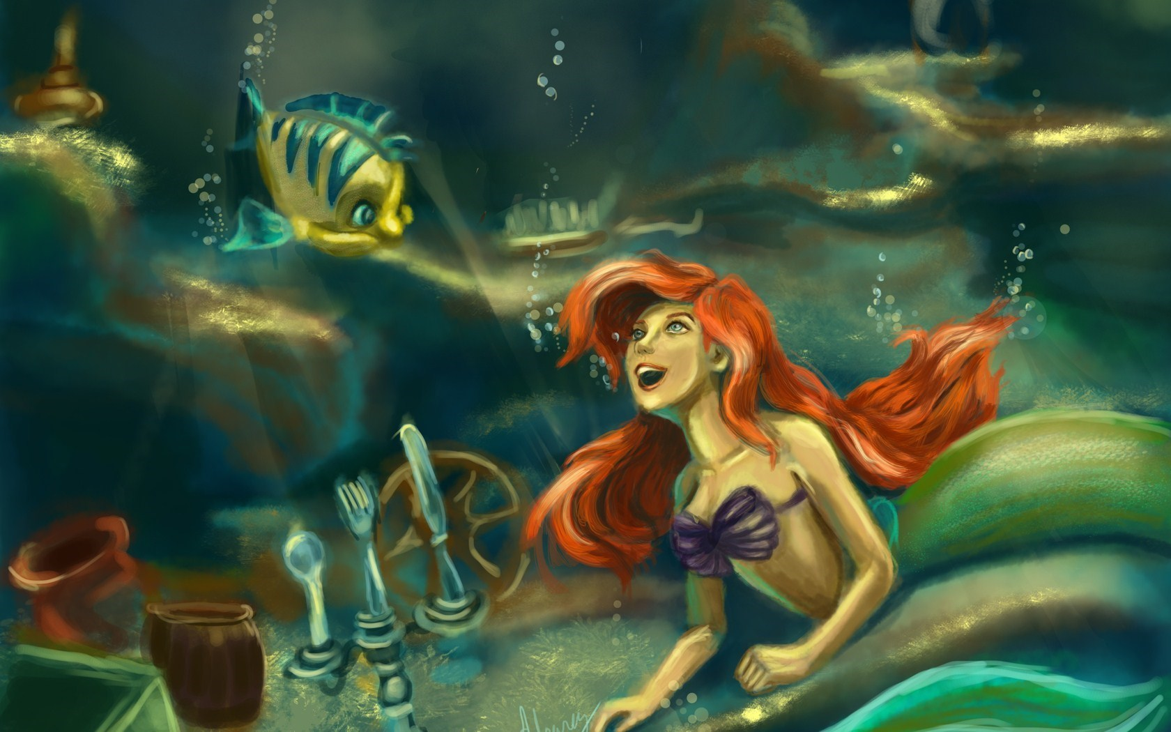 The Little Mermaid Ariel Artwork Cartoon